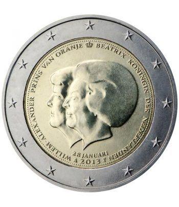 moneda conmemorativa 2 euros Holanda 2013.  - 2