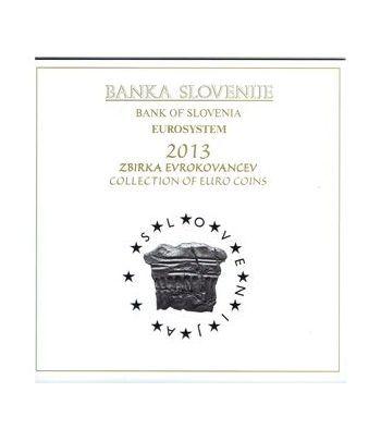 Cartera oficial euroset Eslovenia 2013 (incluye 2 y 3 euros)  - 1