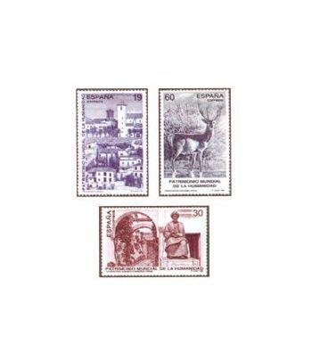 3453/55 Patrimonio Mundial de la Humanidad  - 2