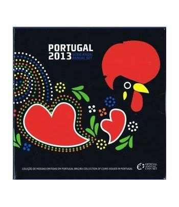 Cartera oficial euroset Portugal 2013.  - 1