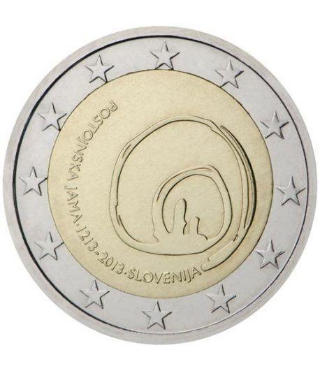 moneda conmemorativa 2 euros Eslovenia 2013.  - 2