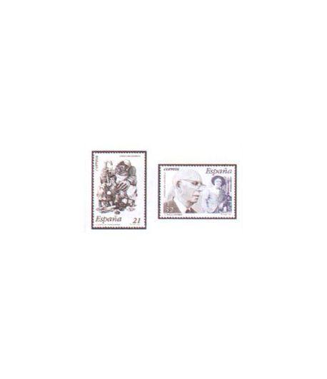 3483/84 Literatura española. Personajes de ficción  - 2
