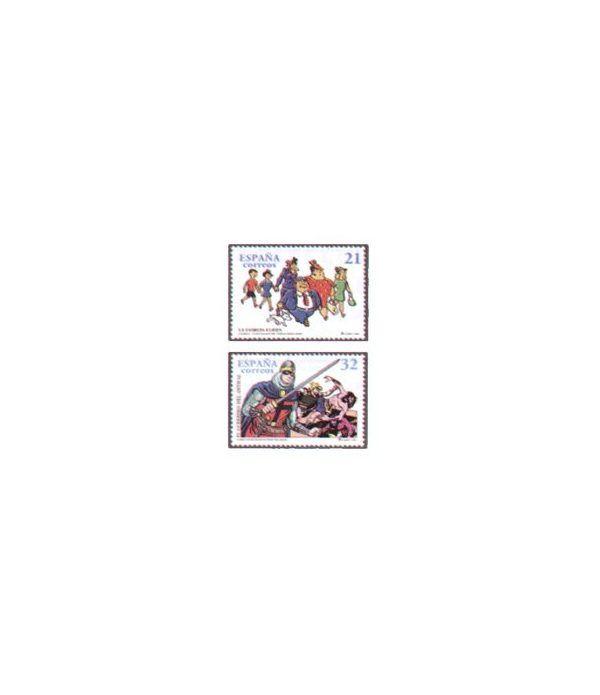 3486/87 Comics. Personajes de tebeo  - 2
