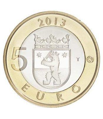 moneda Finlandia 5 Euros 2013 Sakatunka.  - 1