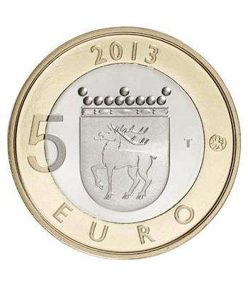 moneda Finlandia 5 Euros 2013 Faro de Salstar.  - 1