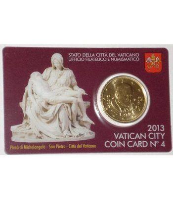 Cartera oficial euroset Vaticano 2013 (moneda 50cts.)  - 2