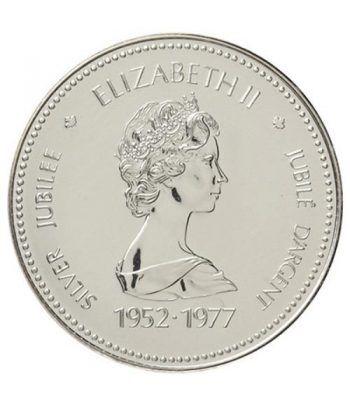 Canada 1$ 1977 Jubileo 1952-1977. Plata  - 2