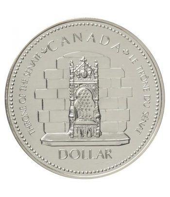 Canada 1$ 1977 Jubileo 1952-1977. Plata  - 4