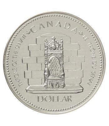 Canada 1$ 1977 Jubileo 1952-1977. Plata  - 1
