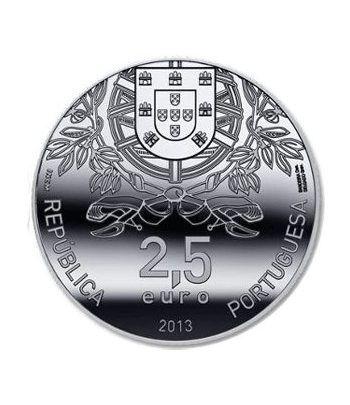 Portugal 2.5 Euros 2013 150 Aniversario fundación Cruz Roja.  - 1