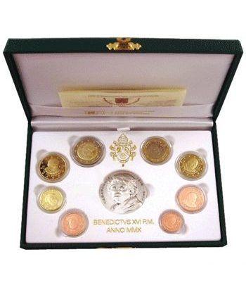 Cartera oficial euroset Vaticano 2010 (Proof)  - 1