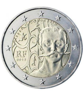 moneda conmemorativa 2 euros Francia 2013.  - 2