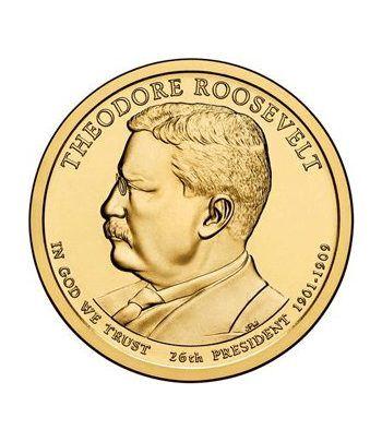 E.E.U.U. 1$ (2013) 26º Presidencial Theodore Roosevelt (2cecas)  - 2