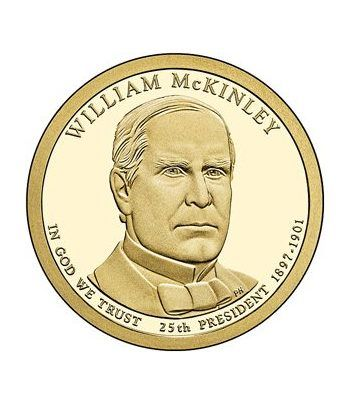 E.E.U.U. 1$ (2013) 25º Presidencial William McKinley (2cecas)  - 2