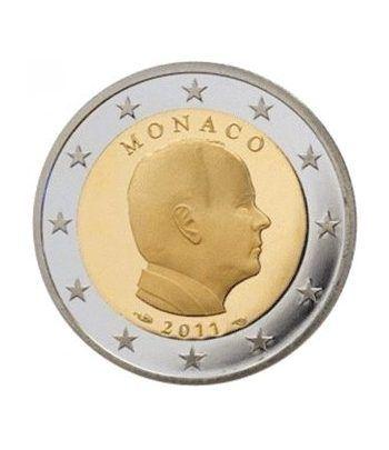 monedas euro serie Monaco 2011 (moneda de 2 euros)  - 2