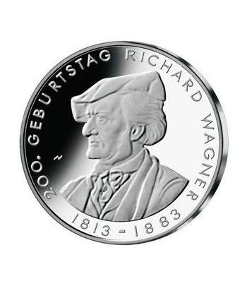moneda Alemania 10 Euros 2013 D. Richard Wagner.  - 1