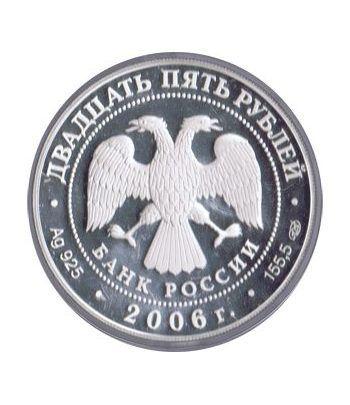 Moneda de plata 25 Rublos Rusia 2006.  - 1