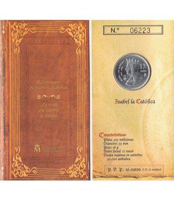 Cartera oficial euroset 12 Euros España 2004 Isabel la Católica.  - 1