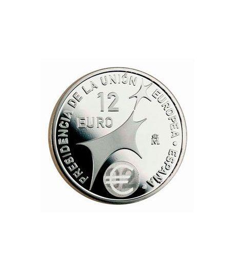 Colección completa Monedas España 12 euros 2002 al 2010  - 1