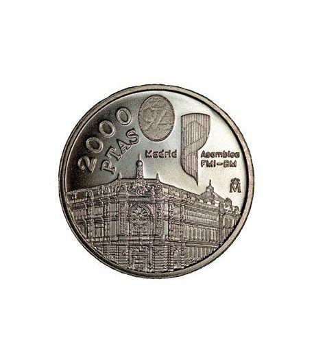 Colección completa Monedas España 2000 Pesetas 1994 al 2001  - 1