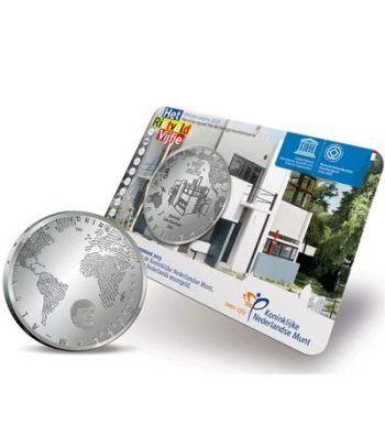 Holanda 5 Euros 2013. Casa Rietveld Schröder. UNESCO.  - 1