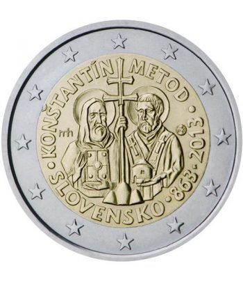 moneda conmemorativa 2 euros Eslovaquia 2013.  - 2