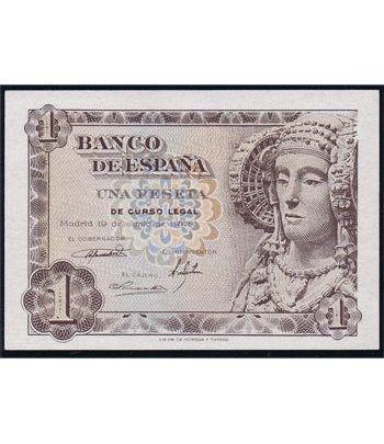 (1948/06/19) Madrid. 1 Peseta. SC. Sin Serie. 01489298.  - 4