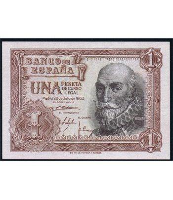(1953/07/22) Madrid. 1 Peseta. SC.  - 1