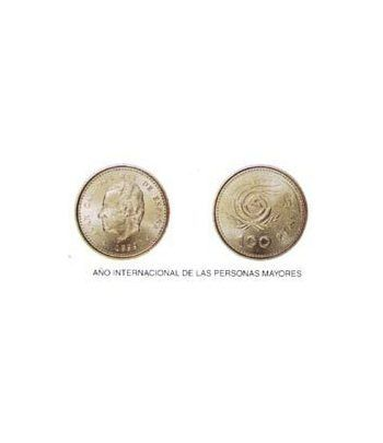 100 Pesetas. (1999) Madrid - (AÑO INT. PERSONAS MAYORES) SC  - 2