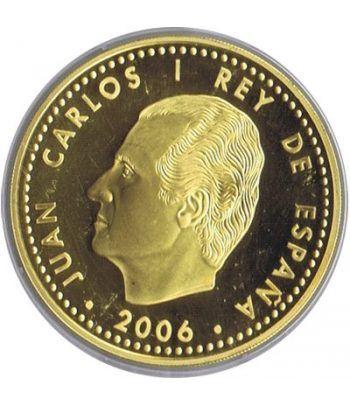 Moneda 2006 Carlos V. Personajes Europeos. 10 euros. Baño oro  - 2