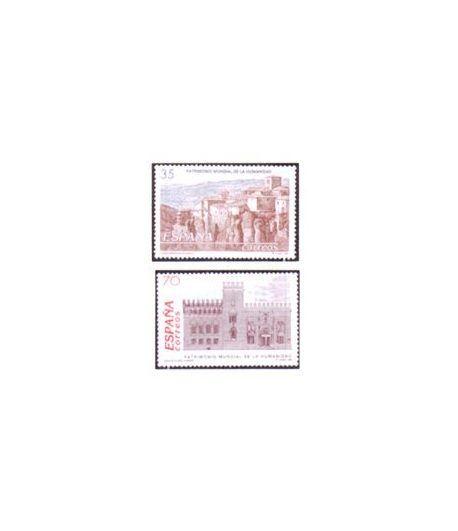 3558/59 Patrimonio Mundial de la Humanidad  - 2