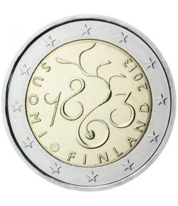 moneda conmemorativa 2 euros Finlandia 2013.  - 2