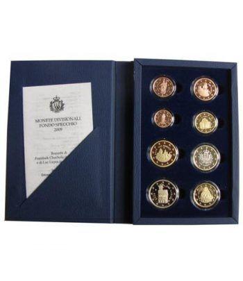 Cartera oficial euroset San Marino 2009 Proof  - 1