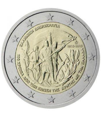 moneda conmemorativa 2 euros Grecia 2013. Creta.  - 2
