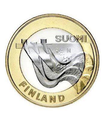 moneda Finlandia 5 Euros 2013 Carelia.  - 2