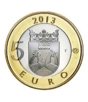 moneda Finlandia 5 Euros 2013 Carelia.  - 1