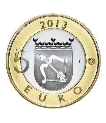 moneda Finlandia 5 Euros 2013 Savonia.  - 4