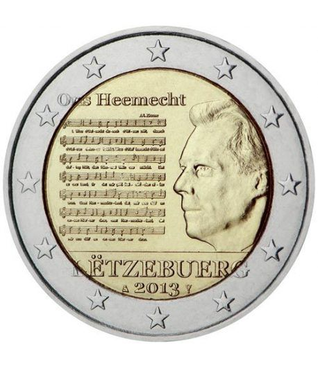 moneda conmemorativa 2 euros Luxemburgo 2013.  - 2