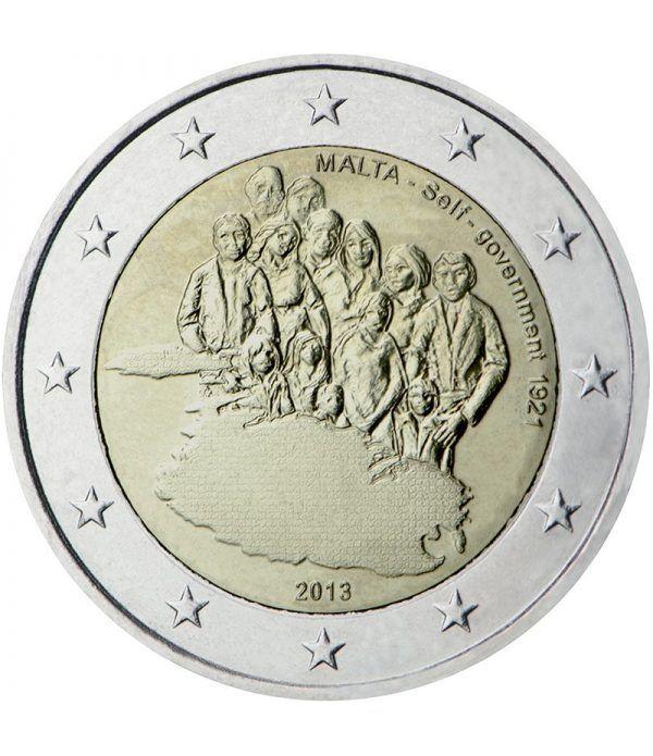 moneda conmemorativa 2 euros Malta 2013.  - 2
