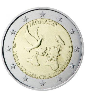 moneda conmemorativa 2 euros Monaco 2013 ONU.  - 2