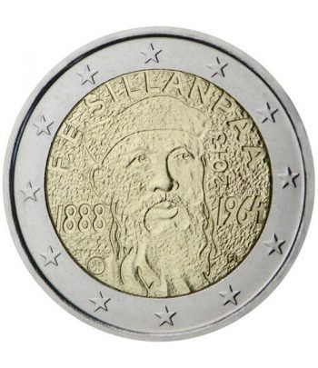moneda conmemorativa 2 euros Finlandia 2013 Sillanpaa.  - 2