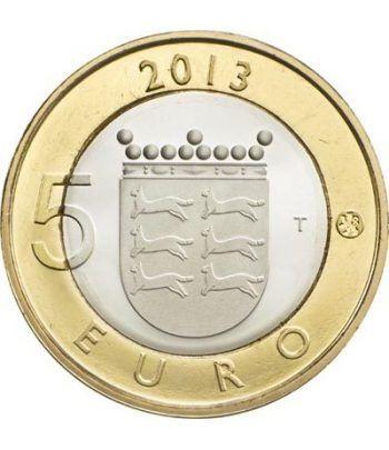 moneda Finlandia 5 Euros 2013 Ostrobothnia.  - 1