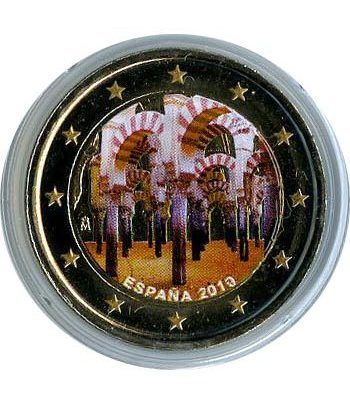 moneda conmemorativa 2 euros España 2010 Cordoba Color  - 2