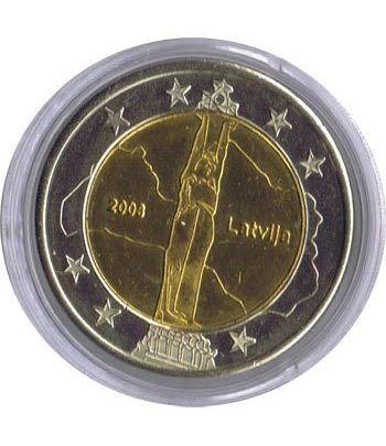Euro prueba Letonia 2 euros 2008.  - 1