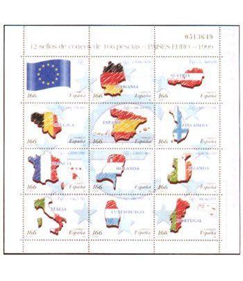 3632/43 Países del Euro  - 2