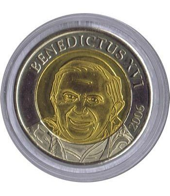 Euro prueba Vaticano 2 euros 2006 Benedicto XVI.  - 1