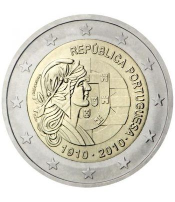 moneda conmemorativa 2 euros Portugal 2010. Proof  - 1