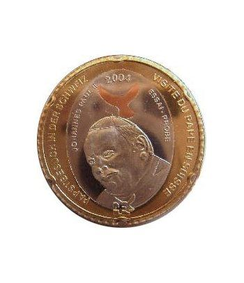 Euro prueba Suiza 5 europ Papa Juan Pablo II 2004.  - 1