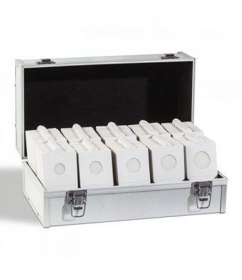 LEUCHTTURM Surtido de 1000 cartones con maletín GRATIS. Cartones Monedas - 1