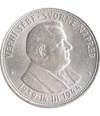 Moneda de plata 50 korun Eslovaquia 1941.  - 1